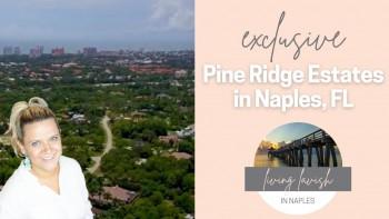 pine ridge estate naples